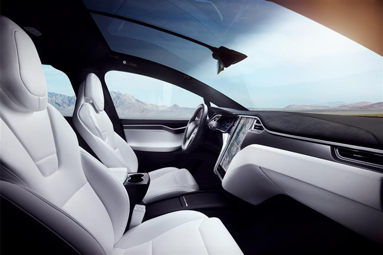 Tesla Model X Hatchback