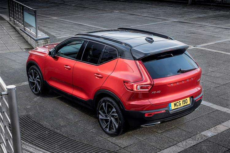 volvo xc40 diesel estate 2 0 d3 r design 5dr leasing deal. Black Bedroom Furniture Sets. Home Design Ideas