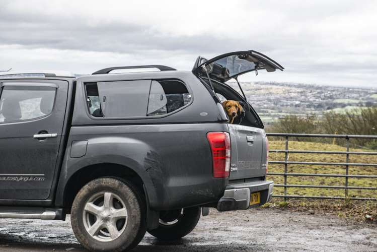 isuzu d max diesel 1 9 utah double cab 4x4 pickup leasing. Black Bedroom Furniture Sets. Home Design Ideas