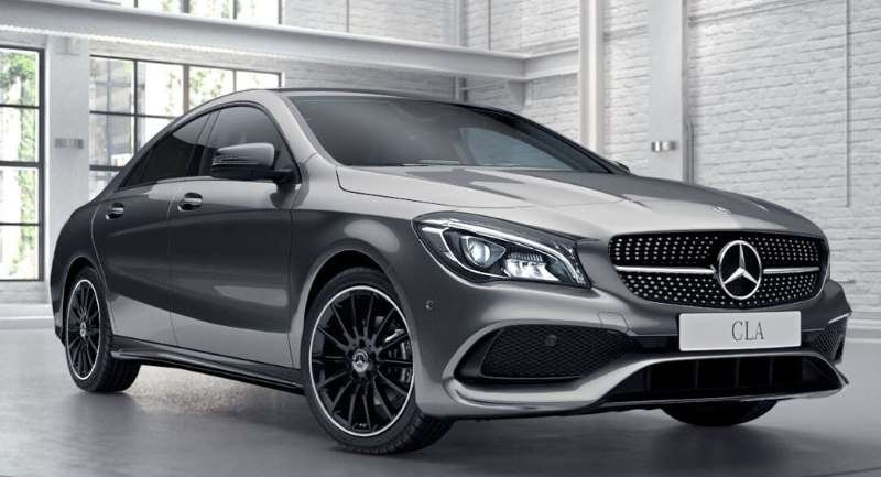 mercedes benz cla class coupe cla 200 amg line night. Black Bedroom Furniture Sets. Home Design Ideas